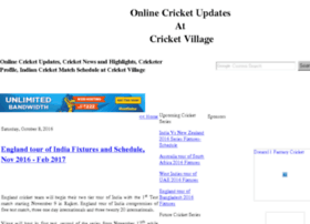 cricketvillage.blogspot.com