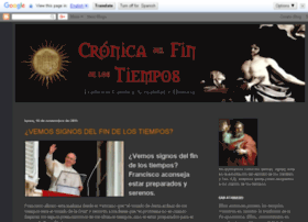 cronicadelfindelostiempos.blogspot.com