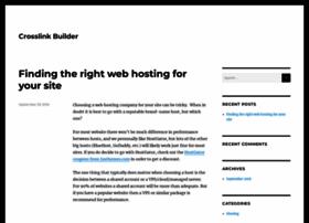 crosslink-builder.com