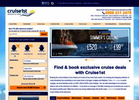 cruise1st.co.uk