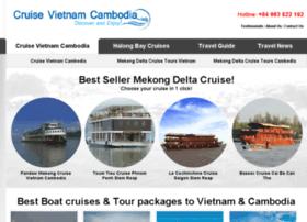 cruisevietnamcambodia.com