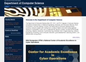 cs.utsa.edu