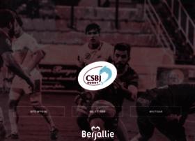 csbj-rugby.fr