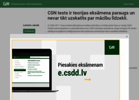 Csnt.csdd.lv