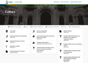 Cultura.mendoza.gov.ar