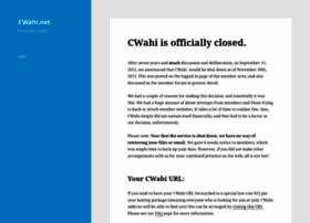 cwahi.net