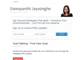 damayanthijayasinghe.com