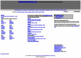 databasefootball.com