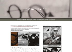 davidsylvian.com