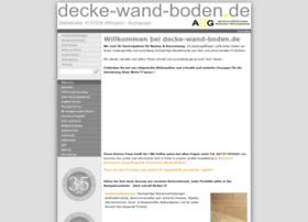decke-wand-boden.de