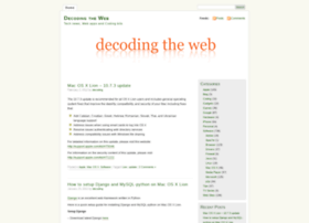 decoding.wordpress.com