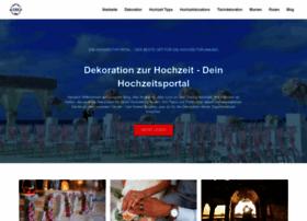 dekoration-zur-hochzeit.de