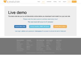 demo.b2evolution.net