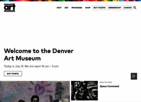 denverartmuseum.org