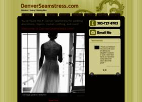 denverseamstress.com