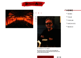 depechemode.com