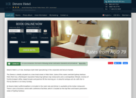 Devere-hotel-sydney.h-rez.com