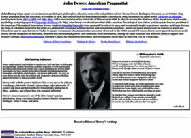dewey.pragmatism.org
