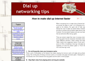 dialupnetworkingtips.com