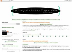 diaryofabrokecollegestudent.blogspot.com