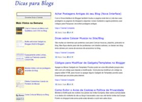 dicasparablogs.com.br