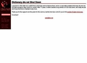 dictionary.die.net