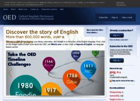 Dictionary.oed.com