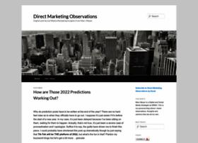 Directmarketingobservations.com