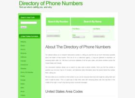 directoryofphonenumbers.com