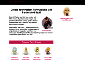 diva-girl-parties-and-stuff.com