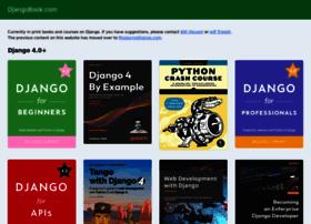 djangobook.com