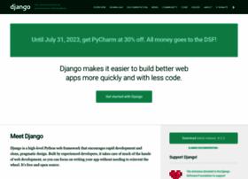 djangoproject.com