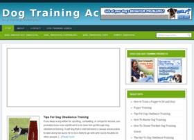 dog-training-academy.org