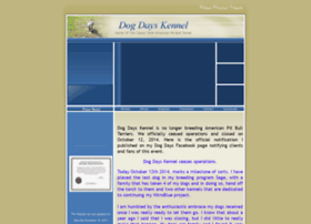 dogdayskennel.com