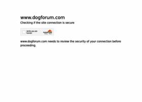 dogforum.com