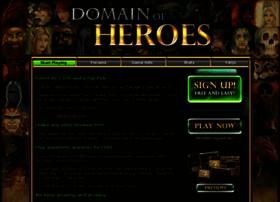 domainofheroes.com