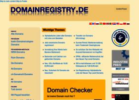 domainregistry.de