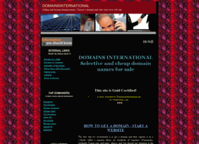 domainsinternational.net