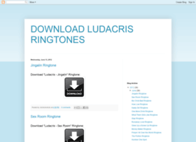 Download-ludacris-ringtones.blogspot.co.nz