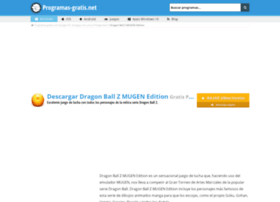 dragon-ball-z-mugen-edition.programas-gratis.net