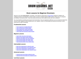 drumlessons.net