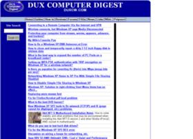 duxcw.com