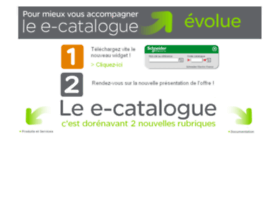 E-catalogue.schneider-electric.fr