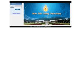 E-learning.mfu.ac.th