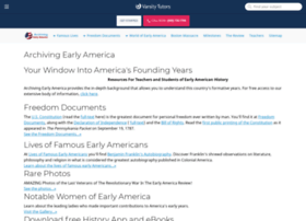 earlyamerica.com