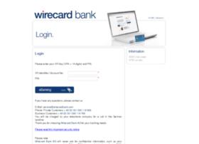 ebanking.wirecardbank.com