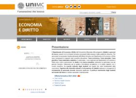 Economia.unimc.it