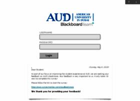 Ecourses.aud.edu