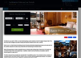 eden-au-lac-zurich.hotel-rez.com