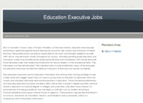 educationexecutivejobs.webs.com